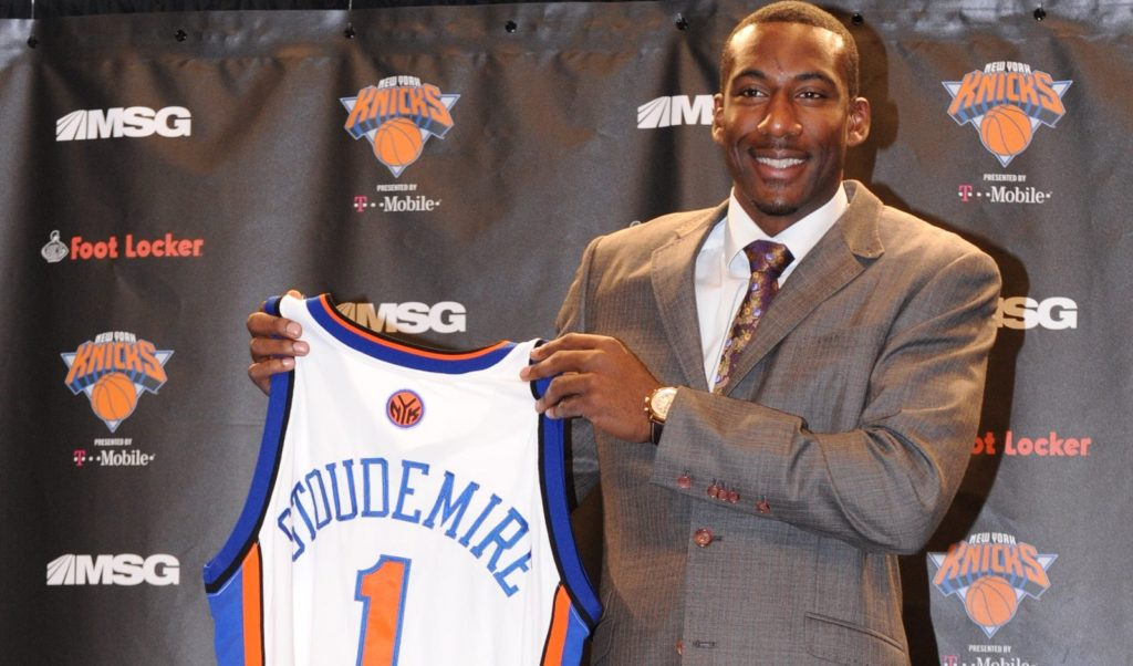 apresentação de Amare Stoudemire no Knicks em 2010