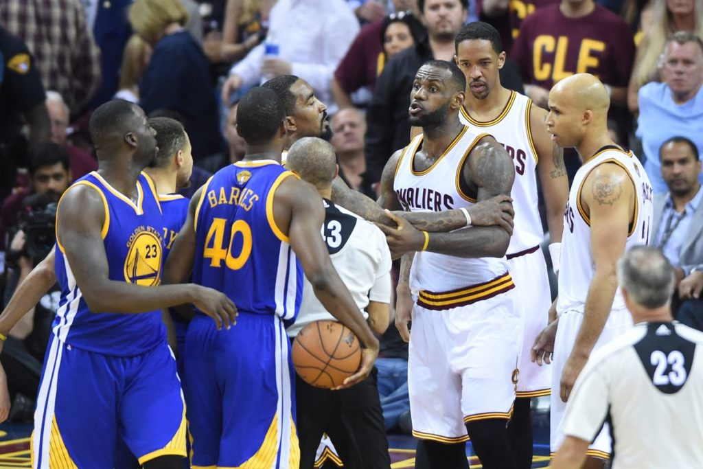 Cavs chegou a estar perdendo as finais de 2016 por 3 a 1 contra o Warriors