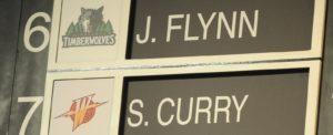 Stephen Curry foi a sétima escolha do Draft de 2009, atrás de Jonny Flynn