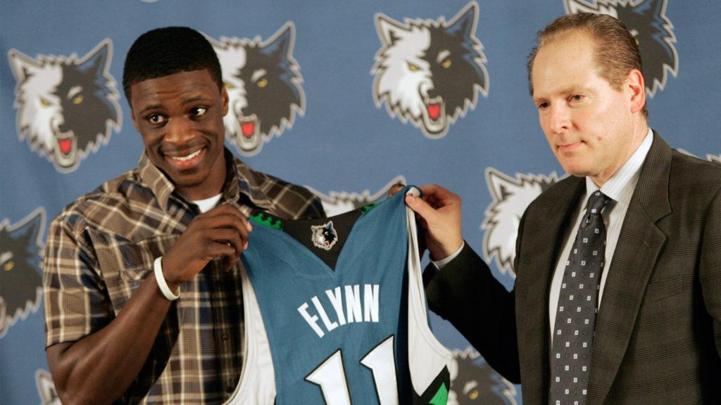 Jonny Flynn foi a sexta escolha do Draft de 2009